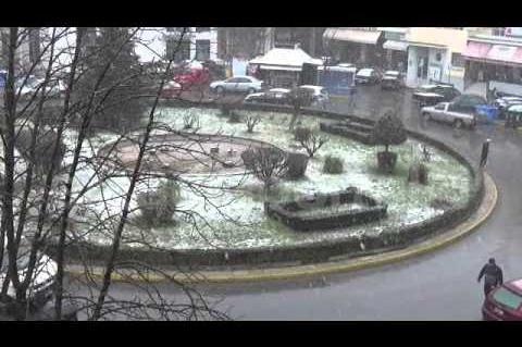 ArcadiaPortal.gr Χιονόπτωση Τρίπολη