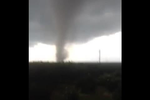 Tornado in Skala (Σκάλα), Lakonias, Greece | 21 09 2015