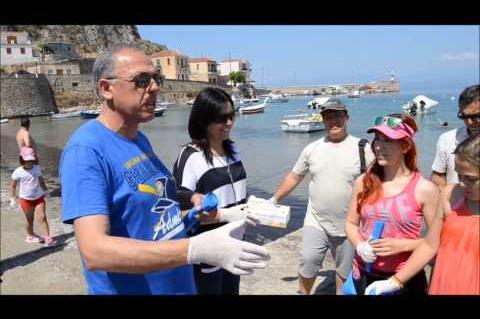 Καθαρισμό των ακτών της Τοπικής Κοινότητας Ελιάς 14-6-2015